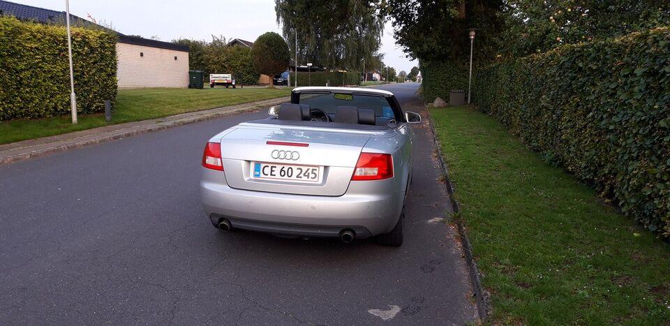 Audi A4, 3,0 V6 Cabriolet Multitr., Benzin
