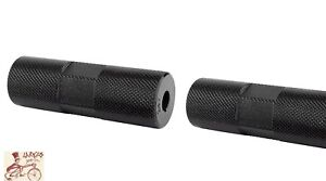 """BLACK OPS LEAD FOOT CHROME 3//8/"""" AXLE BICYCLE PEGS--ONE PAIR"""