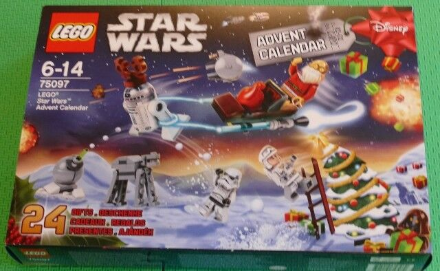 LEGO STAR WARS ADVENT CALENDAR 75097  2015  BRAND NEW UNOPENED  - PAY PAL