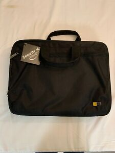New-With-Tag-Case-Logic-Security-Friendly-Computer-Laptop-Tablet-iPad-Black