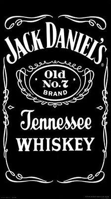 GRANDE logo Jim Beam NASTRO testo Stencil alta dettagliate AEROGRAFO VERNICE Whiskey A3
