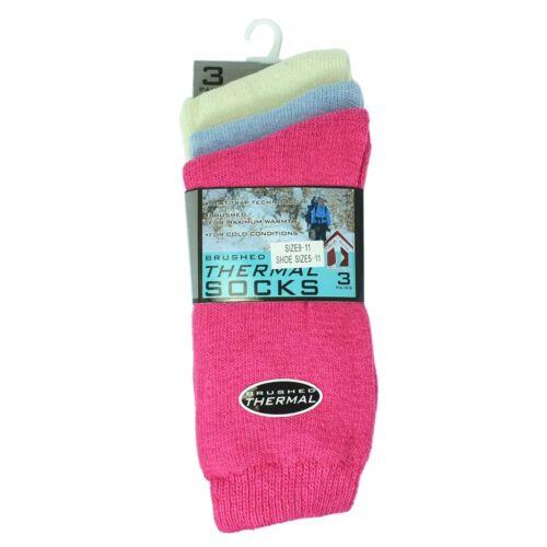 12 Pairs Women Men Heavy Duty Winter Warm Cotton Boots Wool Feel Socks Size 5-15