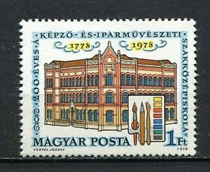 32014) Hungary 1978 MNH School Of Arts And Crafts 1v