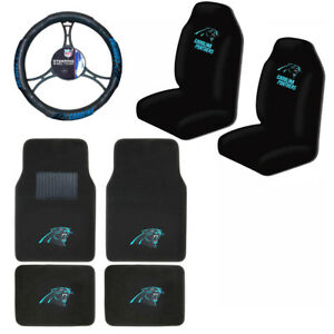 Carolina Panthers Car Seat Covers