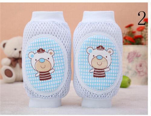 Kleinkind-Sicherheits-Knieschoner Baby-Mesh-Socken-Ellbogenschützer Baby Cr  YT
