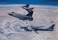 Aeronave Avión Jet Rayo eléctrico inglés Padres Día Cumpleaños Tarjeta En Blanco