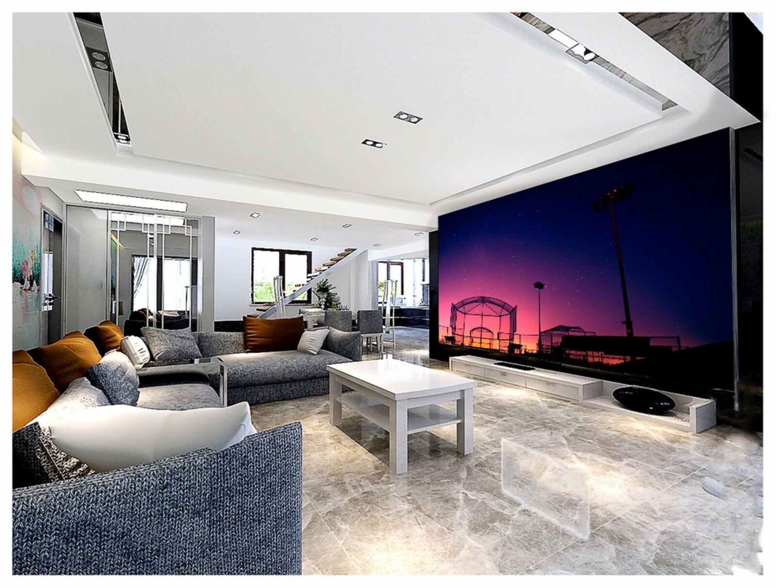3D Paradise the sky 2535 Wall Paper Wall Print Decal Wall Indoor Murals Wall US