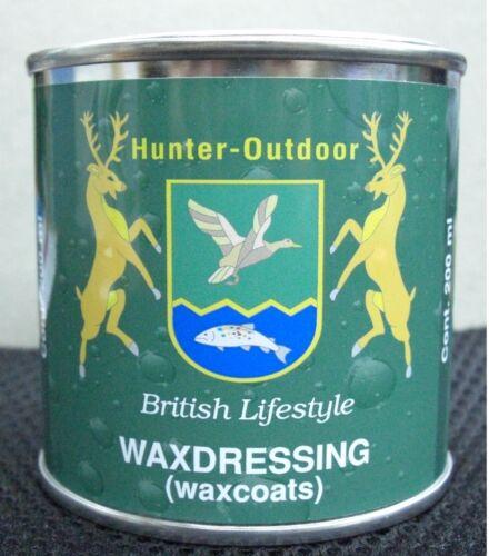 Hunter Outdoor Originale Cera Cotone medicazione Rimprovero protezione per l/'abbigliamento