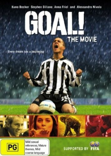 1 of 1 - Goal! The Movie DVD New/Sealed Region 4
