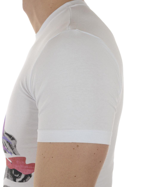 T shirt Maglietta Versace Jeans Sweatshirt EXTRASLIM Uomo Bianco B3GRA73A B3GRA73A B3GRA73A 3 e6020d