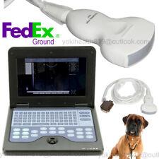 Veterinary Ultrasound Scanner Laptop 35mhz Convex Probe Machine Usa Fedex