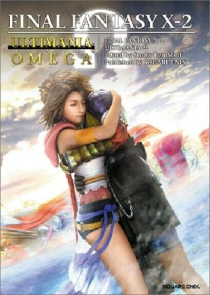 Final Fantasy X-2 Ultimania Omega Japan Ps2 Game Guide and Art Book
