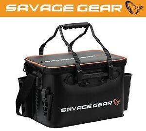 Zubehör Savage Gear System Box Bag Xl 3 Boxen Waterproof Cover 25x67x46cm Klar Und GroßArtig In Der Art