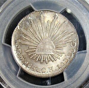 Mexico-Republique-2-Reales-1861-Mo-Ch-MS65-PCGS