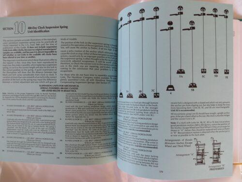 Horolovar 400 Day Anniversary Clock Repair Guide Book 10th Edition
