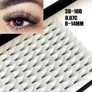 bd3bc0c7599 SKONHED 12 Lines 3D~10D Russian Premade Volume Fans Eyelashes C Curl ...