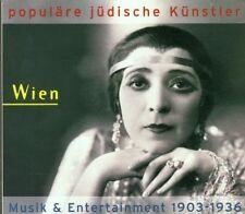 POPULÄRE JÜDISCHE KÜNSTLER-WIEN 1903-36 CD NEU ARMIN BERG/FRANZ ENGEL/MAY BROD/
