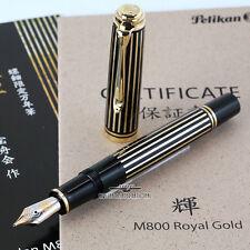 Pelikan Souveran Raden M800 Royal Gold LE Fountain Pen