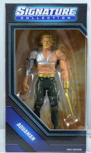 "DC SIGNATURE COLLECTION AQUAMAN WITH HOOK NEW 6/"" ACTION FIGURE 2014"