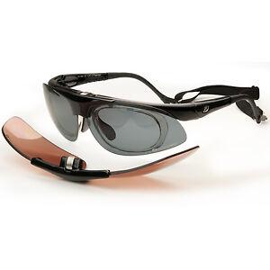daisan fahrradbrille sportbrille f r brillentr ger mit optik clip hochklappbar ebay. Black Bedroom Furniture Sets. Home Design Ideas