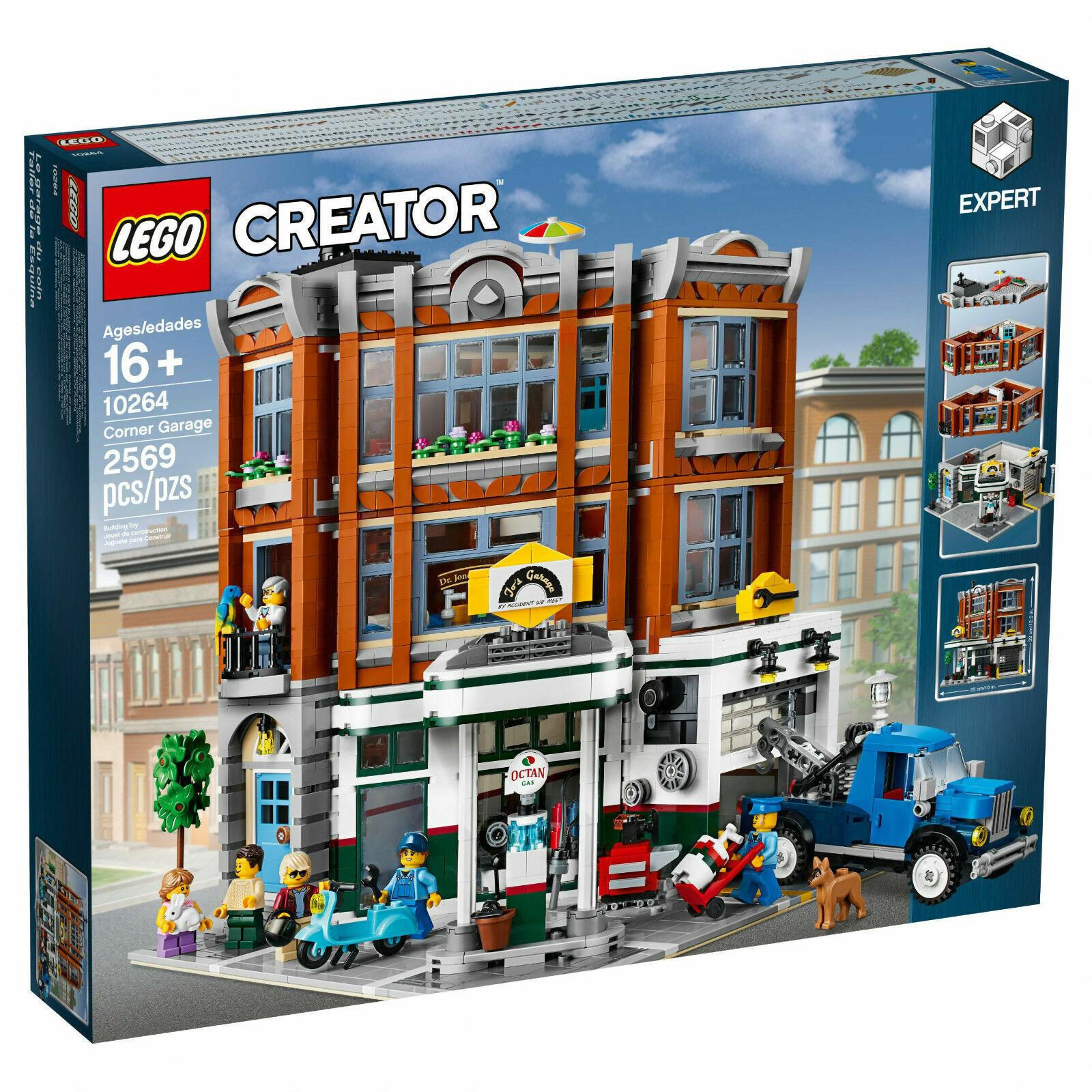 LEGO® 10264  Creator - Corner Garage - nuovo   FACTORY SEALED  spedizione e scambi gratuiti.