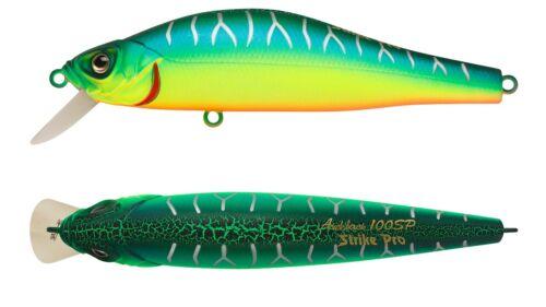 Strike Pro Archback 80SP EG-125A-SP fishing lures range of colors