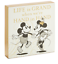 Hallmark-Disney-Mickey-and-Minnie-Love-Hand-in-hand-Wood-Quote-Sign-New 縮圖 3