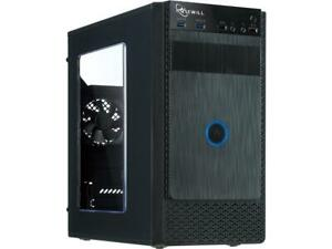 Rosewill-FBM-X1-Black-Steel-Plastic-Mini-Tower-Case-with-Side-Panel-Window