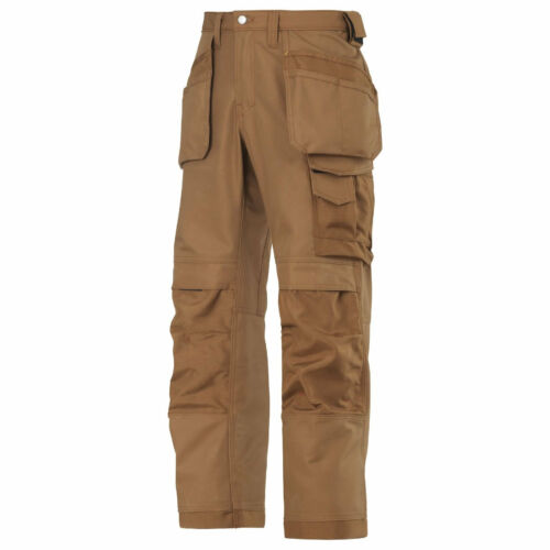 HOLSTER POCKETS BRAND NEW WITH TAGS SNICKERS 3214 WORK TROUSERS BROWN