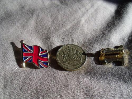 British Britain UK Flying Union Flag // Jack brooch pin badge United Kingdom