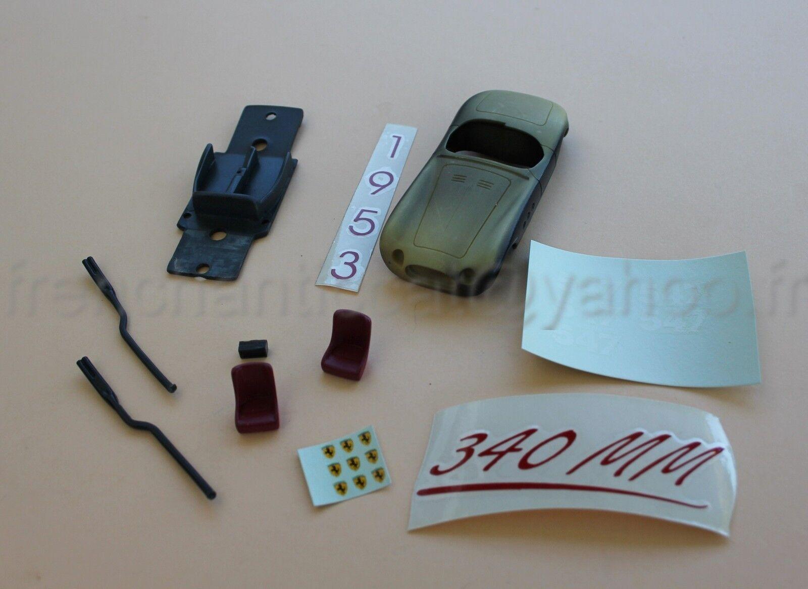 Nd 'car ferrari 340 mm 547 case black collector 1 43 heco miniatures castle