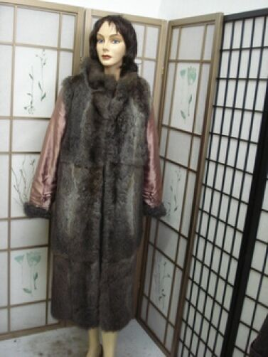 MINT OPOSSUM FUR LINING FOR WOMEN SZ 8-10