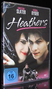 DVD HEATHERS - 80er KULT mit CHRISTIAN SLATER + WINONA RYDER Highschool-Komödie