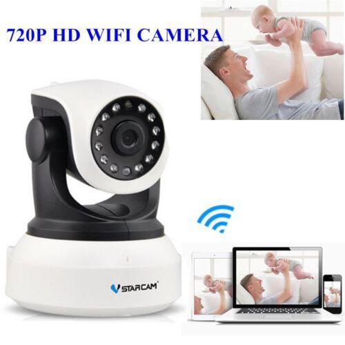 Vstarcam 720p Wireless Pan Tilt IP Network IR Home Surveillance Security Camera#