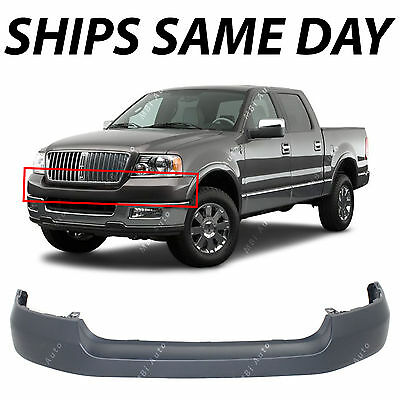 NEW Primered Front Upper Bumper Cover Fascia for 2004-2006 Ford F150 Pickup