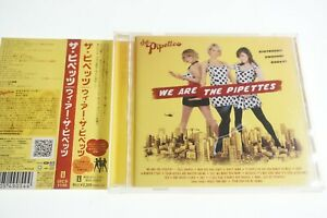 The Pipettes – We Are The Pipettes UICS-1149  JAPAN CD OBI A14564