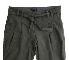 New Womens Green Linen NEXT Trousers Size 12 Regular