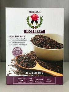 SIAM-LOTUS-Berry-riso-Thai-riceberry-Viola-Riso-A-Grani-Lunghi-Nero-2-Libbre-32-OZ