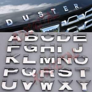 SCRITTA-AUTO-DACIA-DUSTER-ADESIVA-3M-LETTERE-CROMATE-LUCIDA-ANTERIORE-POSTERIORE