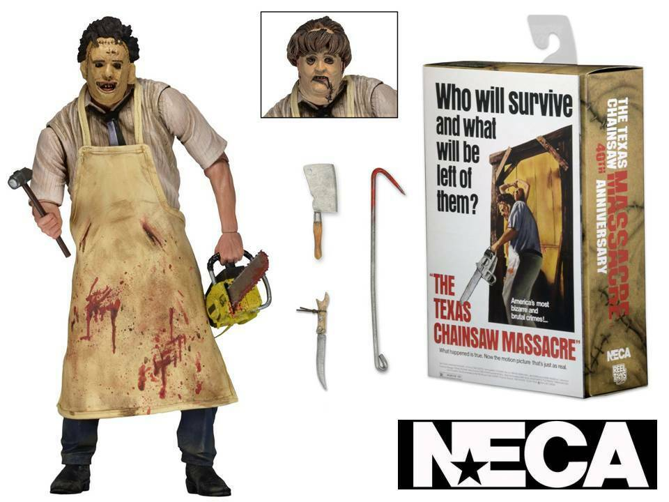 Action-Figur Texas Chainsaw Massaker Leatherface Ultimate 40th Ann. 18 cm Neca