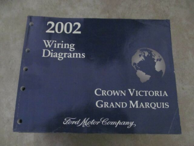 2002 For Crown Victoria  Grand Marquis Wiring Diagrams