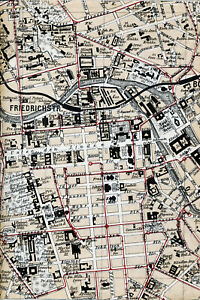 Berlin-Mitte-Unter-den-Linden-Friedrichstr-1895-orig-Teilkarte-Ln-Ministergaerten