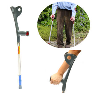 Walking-Aid-Forearm-Crutch-Adjustable-Disability-Arm-Cuff-Crutches