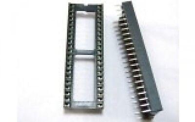 50 PCS DIP-42 42 PIN 42PIN IC Sockets Adaptor Solder Type Wide