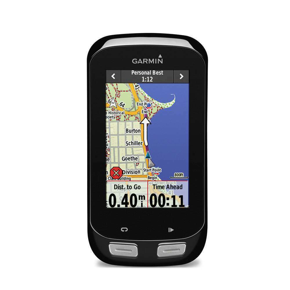 Garmin Edge 1000 GPS Cycle Bicycle Bike Computer with Cadence and Heart rate mon