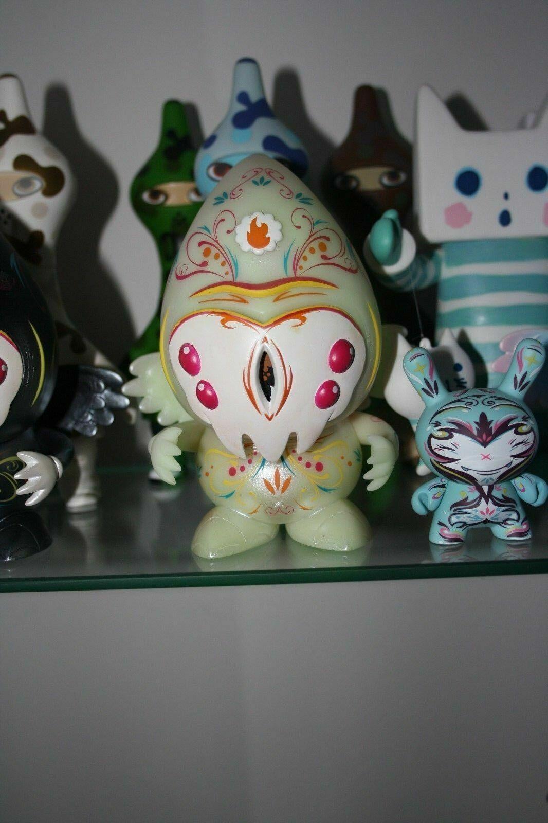 THOMAS HAN Munky King Designer Toy PUSHER 6  GID ed of 150
