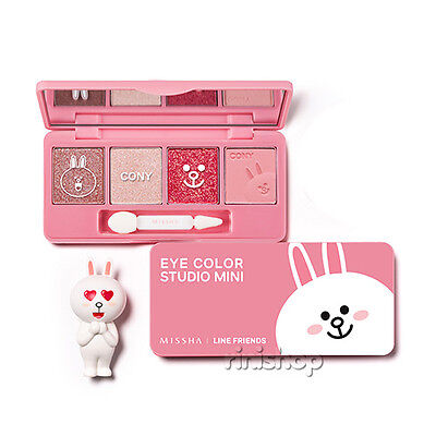 [MISSHA] LINE FRIENDS Edition Eye Color Studio Mini #1.Cony Pink 7.2g Rinishop