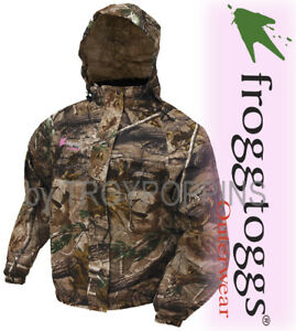 b9853bd2f Details about FROGG TOGGS RAIN GEAR-PA652-53 PRO ACTION RT AP HD CAMO  LADIES JACKET FISH HUNT