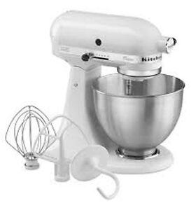 Amasadoras-batidoras-KitchenAid-Classic-K45SS-EWH-Robot-de-cocina-Blanco