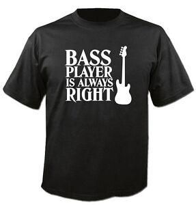 Player sempre shirt Bass T è Felpa Kapuzenpulli Rock Bassist giusto Guitar qfPYIAFwx